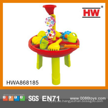 Neues Produkt Sand Strand Spielzeug Sand und Wasser Tisch Kinder Spiel