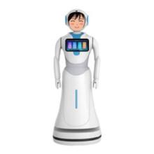 Interactive Talking Bank Robots
