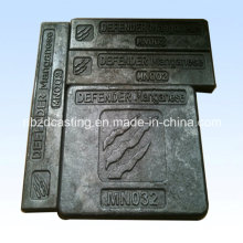 OEM Investment Steel Casting for Wearing Plate/Defender
