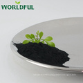 l'engrais de poudre d'acide humique neutralisent le sol acide et alcalin, équilibrent la valeur de pH du sol, conditionneur de sol