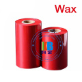 Thermal Transfer Printer Ribbon Wax Barcode Ribbon 110mm*300m