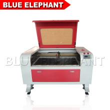 ELE6090 Co2 Máquina a laser acrílica para madeira, mdf, plástico, papel