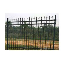 Wrought Iron Landscaping Construction Fence
