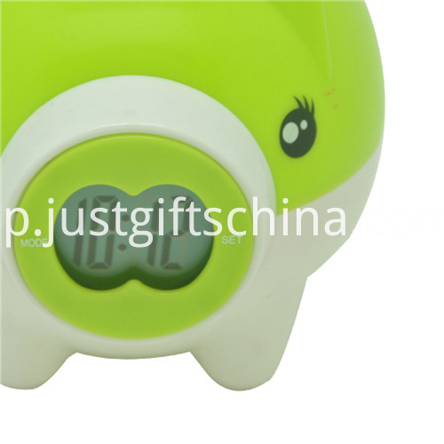 Promotional Plastic Electronic Saving Pot Clock_6