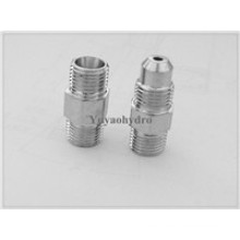 Hydraulic Male Connector Lubrication System Fittings