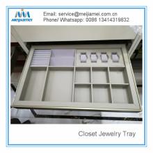 Caixa de armazenamento de couro