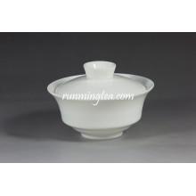 Porcelana branca Pu Er Gaiwan