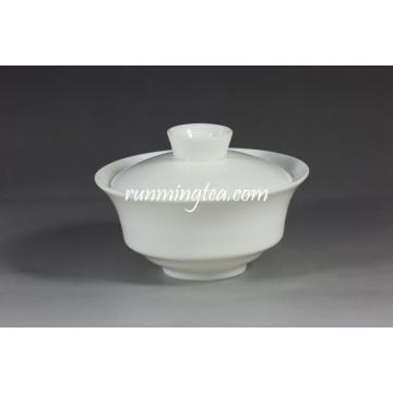 Weißes Porzellan Pu Er Gaiwan