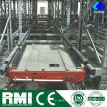 Automático Raild Vehículo de recuperación guiada RGV Pallet Radio Shuttle Rack