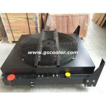 Sistema de enfriamiento de aluminio para maquinaria de minería