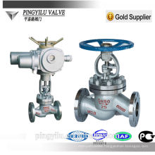 motorized globe valve water globe valve water rising stem globe valve cast steel flange end globe valve china supplier