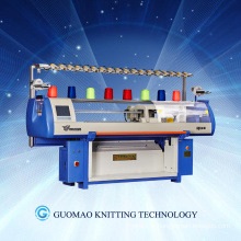 three system automatic flat knitting machine for knitting sweaters