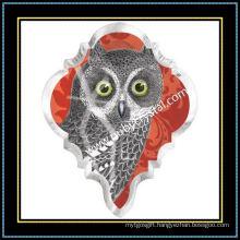 Full Color Owl Crystal Magnet