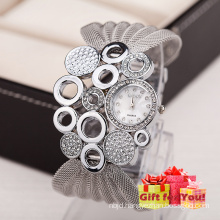Special Design Fashion Women Rhinestone Bracelets Wrap Lady Wrist Watch Cestbella Special Gifts Watch