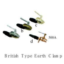 Herramientas de soldadura (British Type Earth Clamp)
