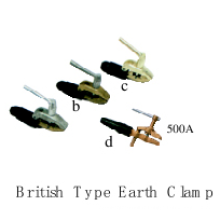 Outils de soudure (British Type Earth Clamp)