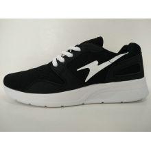 Preiswerte heiße Verkaufs-schwarze bequeme laufende Schuhe