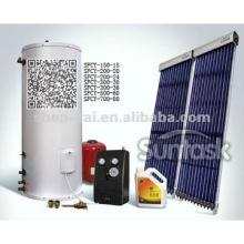 Solar Keymark Split Pressurized Solar Water Heater 200L for Villa