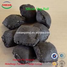 Anyang calificado desoxidante bola de escoria de silicio para la fabricación de acero