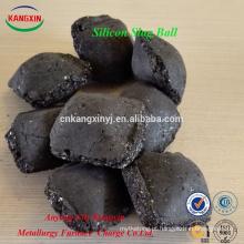 Anyang qualificado desoxidante bola De Escória de Silício para siderurgia