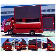 Caminhões de HOWO Display LED tela publicidade