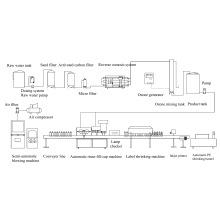 3000bottle/Stunde-Mineralwasser-Produktionslinie