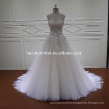 Robe de mariée classique classique à bas prix HD-017