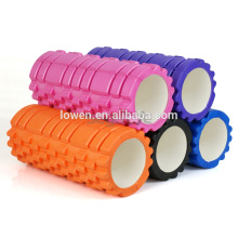 45x15cm-EVA-Physio-Foam-Roller-Yoga-Pilates Ginástica Exercício Back Training W / Bag