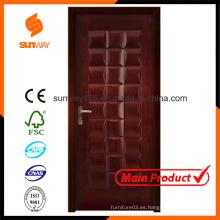 Nueva puerta de madera del diseño con precio competitivo