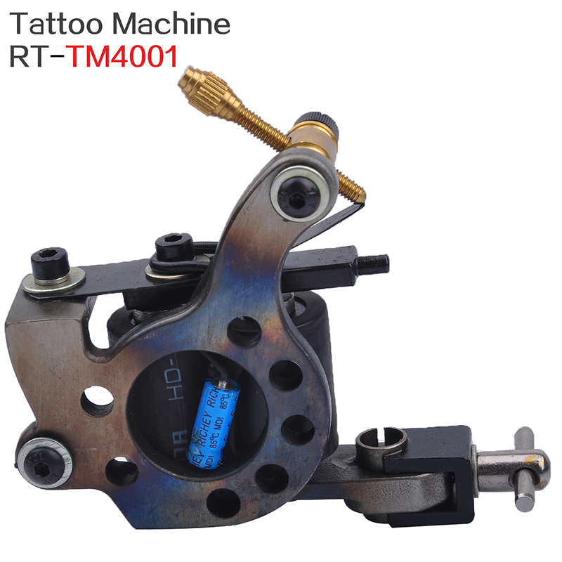 Machine de tatouage de corps de carbone