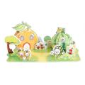 3D фрукты дом головоломки