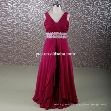 RSE690 Off The Shoulder Lace Up Back Plus Size Burgundy Mature Red Mother Of The Bride Dresses