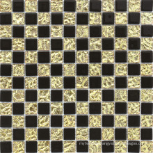 13 Facets Diamond Mirror Glass Square Mosaic Tile