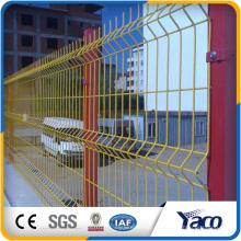 ПВХ покрытием сварные сетки забор, 3D забор
