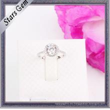 La más nueva manera Shinny el anillo de la joyería de la CZ