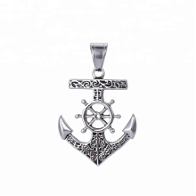 33431 xuping design de moda jóias de Aço Inoxidável Viking Forma de âncora pingente cruz