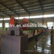 línea de producción de la máquina de la tubería del filamento de la fibra de vidrio (GRP / FRP)