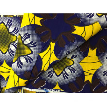 African Super Wax Ankara Prints Fabric with 100% Cotton Fabric Manufacturer