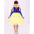 party wear snow white cosplay dress movie costume girl princess dress for party