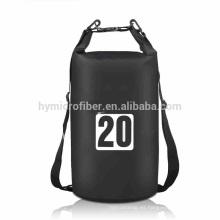 La aduana de la fábrica piensa el bolso impermeable de la playa de la tela del pvc