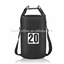 Factory custom think pvc fabric foldable beach waterproof bag