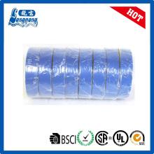 Ruban isolant de vinyle bleu