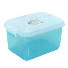 Recipiente de caixa de armazenamento de plástico de casa de cristal para casa (SLSN020)