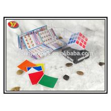 Boîte à affichage en PVC promotionnelle promotionnelle Magic Square Cube avec une bonne qualité
