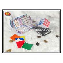 PVC display box hot sale promotional Magic Square Cube with good quality