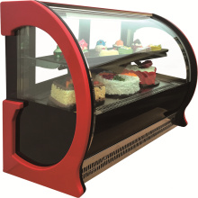 Glass Window cake display Showcase For Bakery Store