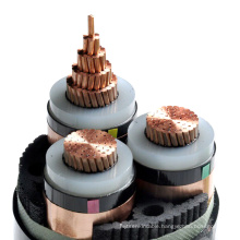 ISO CE high voltage 1 core 3 core xlpe 11kv power underground cable price