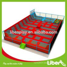 China Safety grand parc de trampolines intérieures avec piscine à bille, fosse en mousse LE.B2.504.151