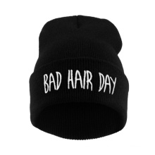 Barato de malha mulheres inverno chapéu