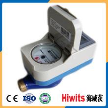 Tipo de contacto residencial Smart Prepaid Water Meter con tarjeta IC
